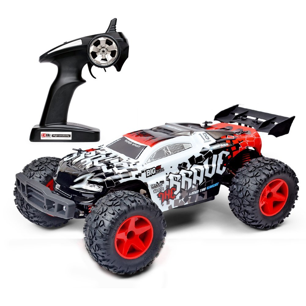 566b78333292 Crenova 4W 1 12 RC Car 24gHZ Remote Control High Speed RC Off-Road Monster  Truck