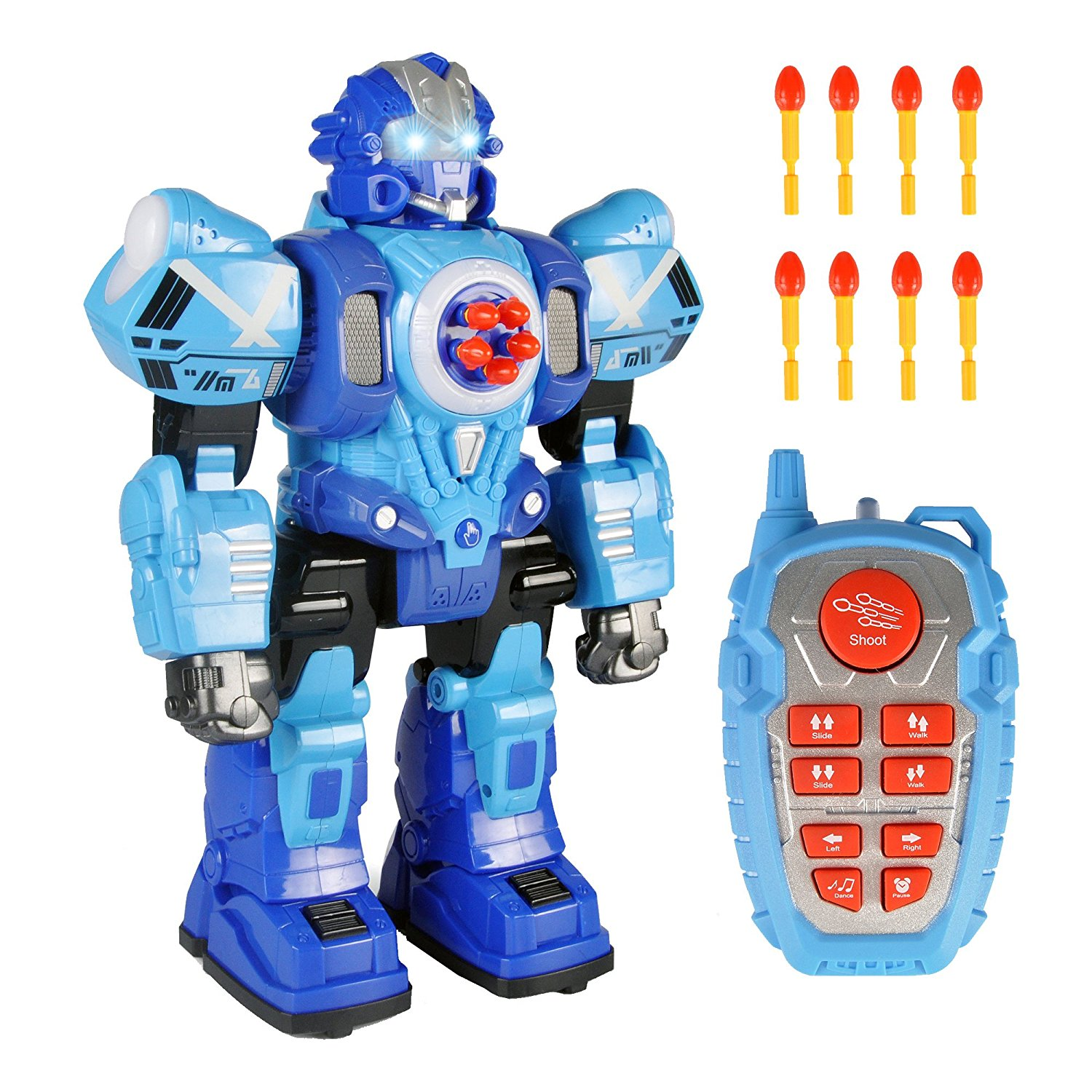 Toys For Robots : Us large remote control robot toy for kids rc