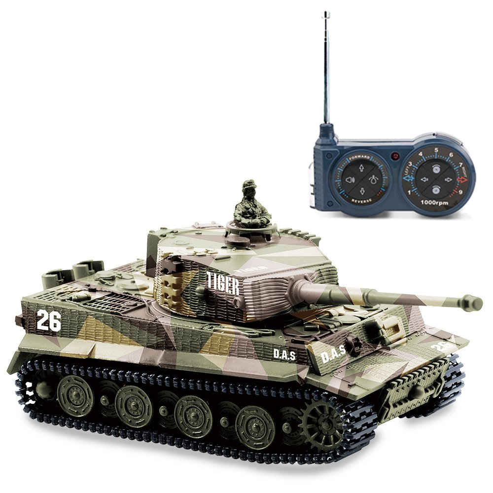 us bluefit german tiger i panzer tank with remote control. Black Bedroom Furniture Sets. Home Design Ideas
