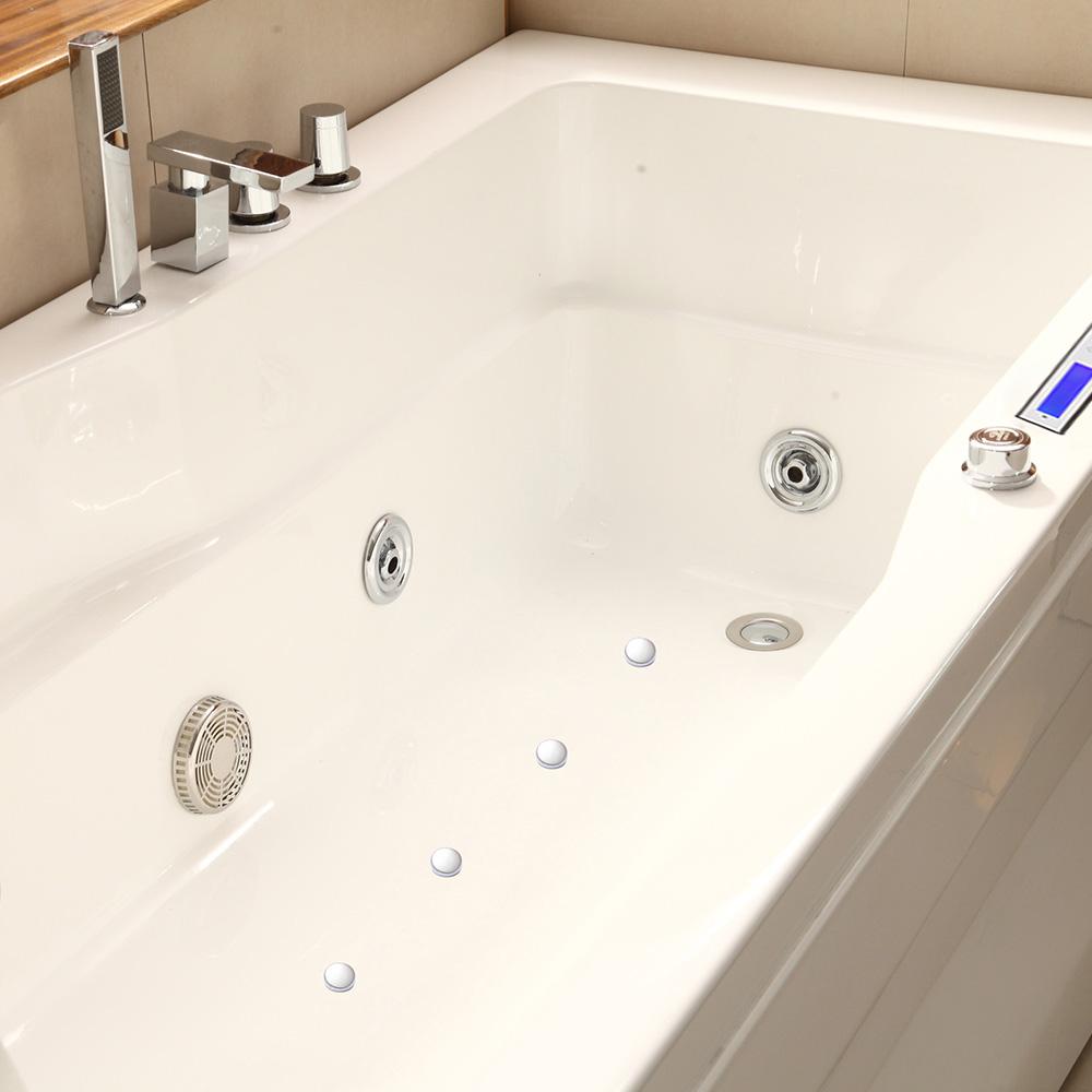 Baignoire baln o babylone la simplicit baignoire avec for Piscine babylone