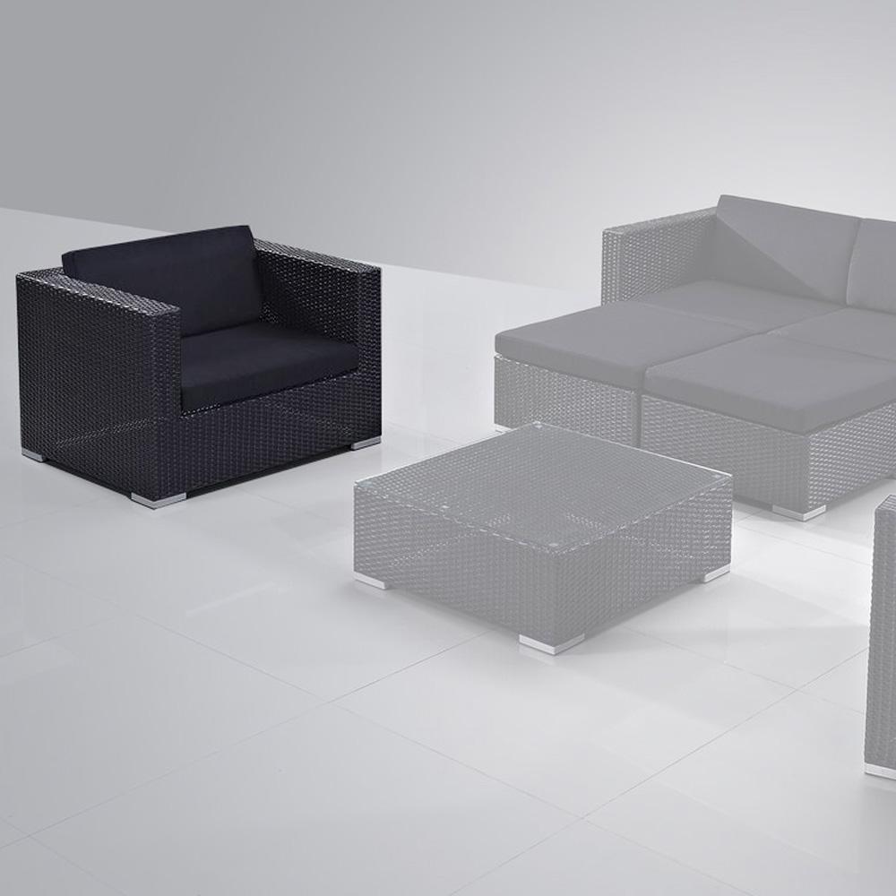 fauteuil de jardin design en r sine tress e. Black Bedroom Furniture Sets. Home Design Ideas