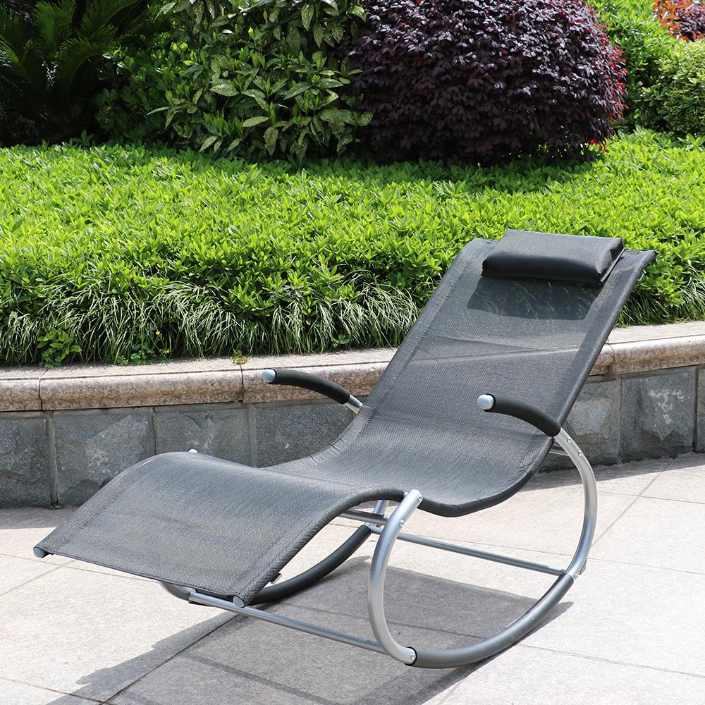 d s bain de soleil bascule gris. Black Bedroom Furniture Sets. Home Design Ideas