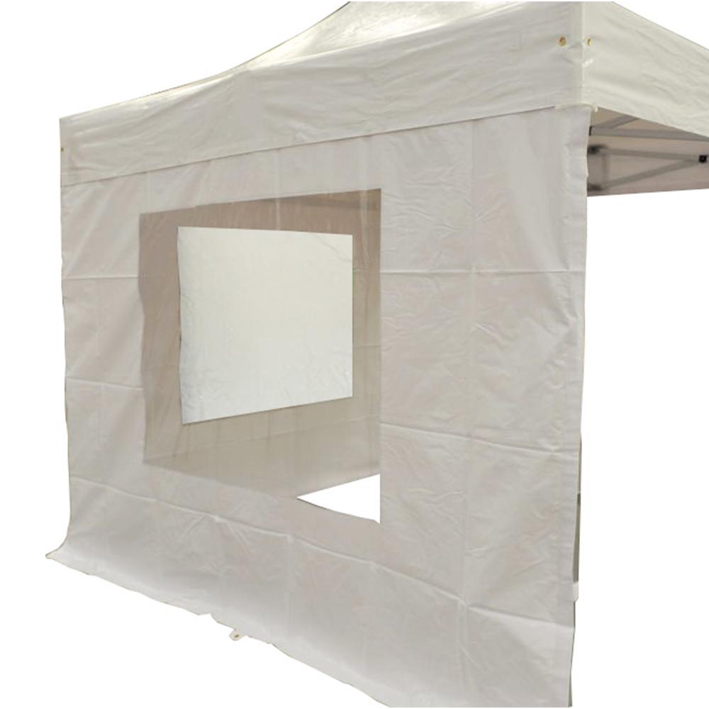 c t b che avec fen tre 4m pvc 520g m blanc. Black Bedroom Furniture Sets. Home Design Ideas