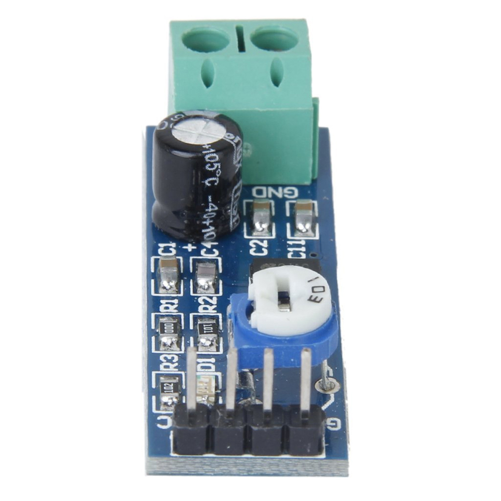 Lm386 Chip 200 Gain Audio Amplifier Module Blue For Arduino Diy Voice Circuit Using Operational Buy At Amazon