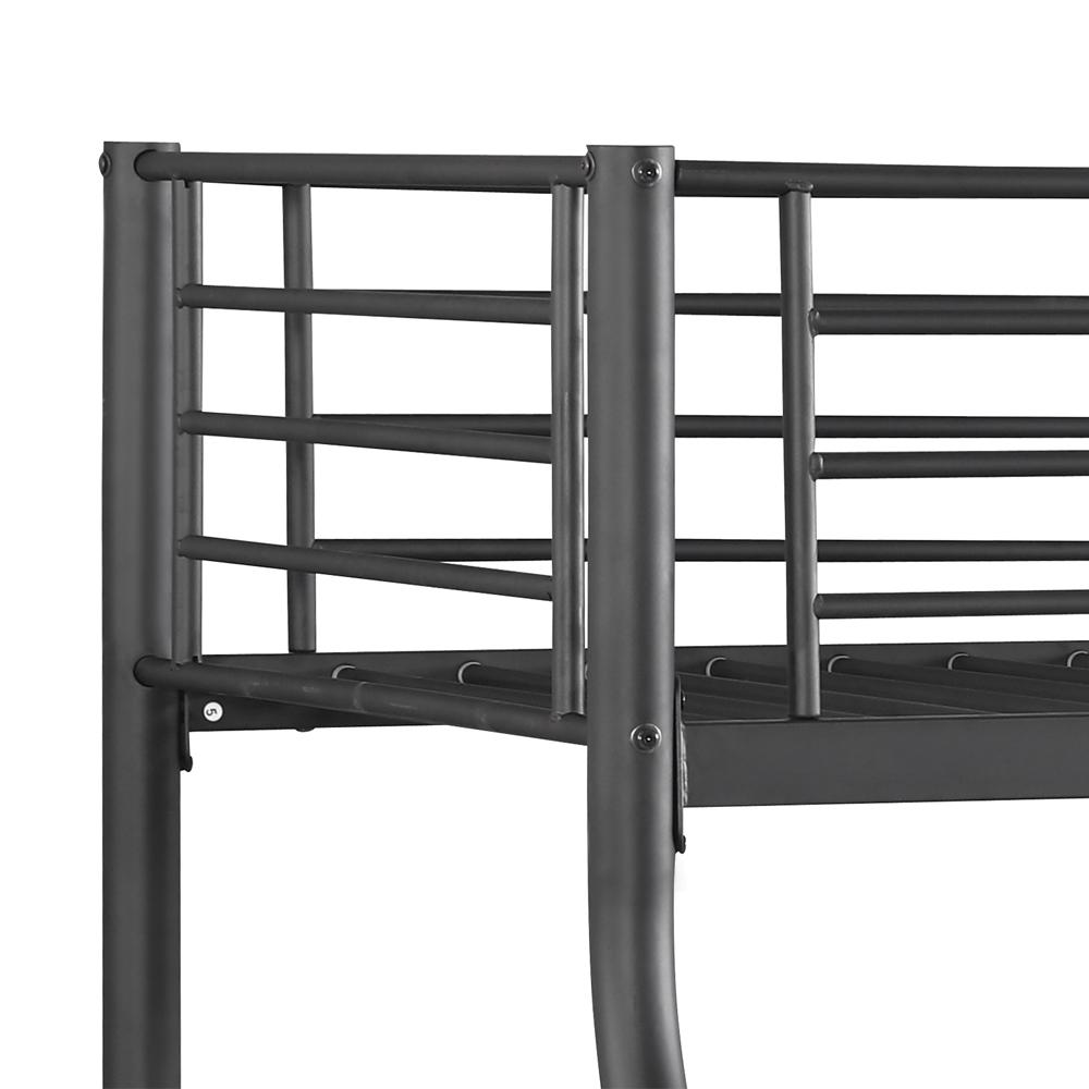 Sólo 129.14€, IKayaa Moderno solo-sobre-doble marco de cama de ...