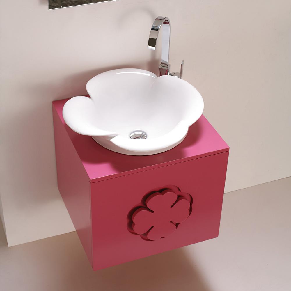 meuble salle de bain simple vasque maa