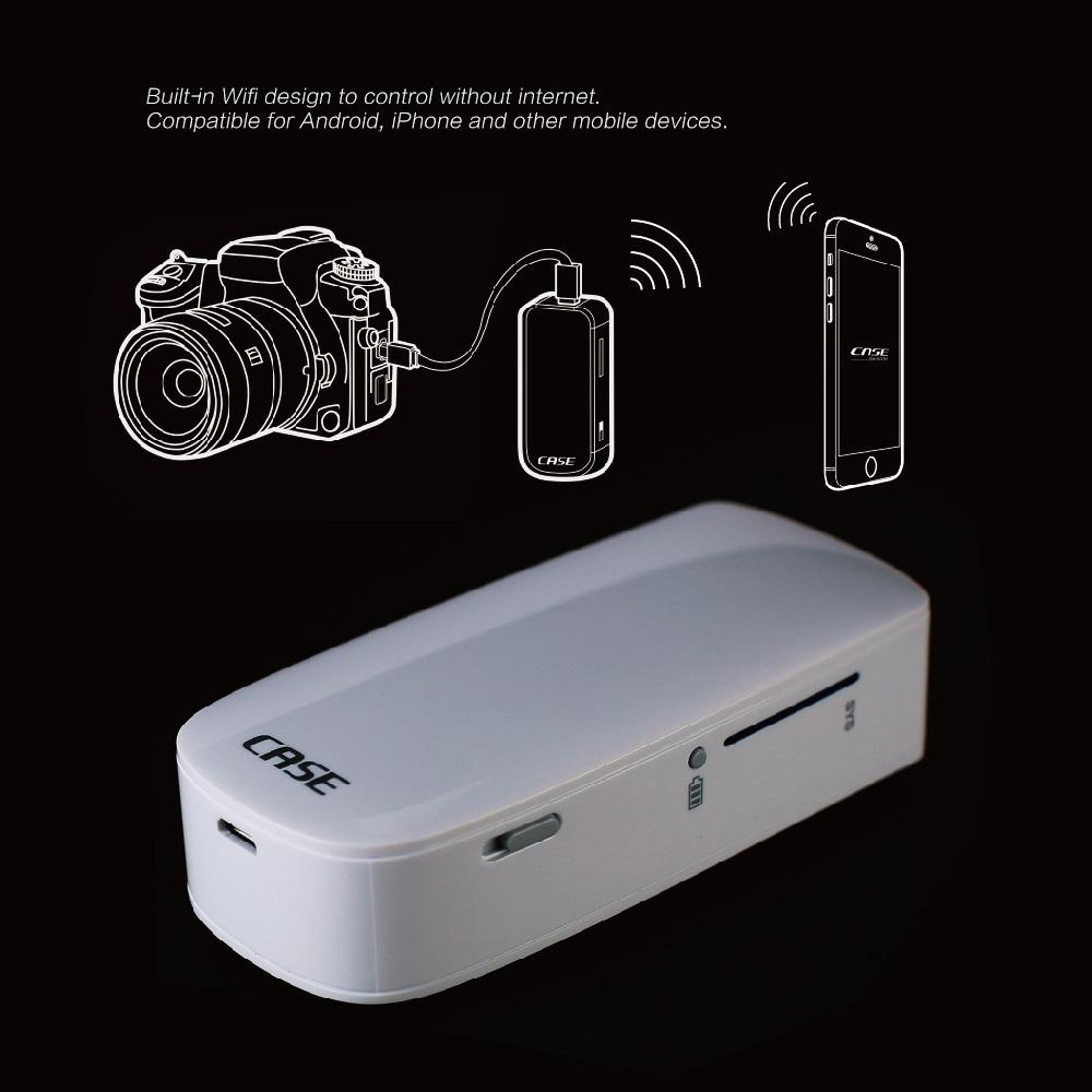 CASE Smart Wi-fi Camera Wireless Remote Control Controller Shutter Release  with Live View via Smartphone Pad for Canon Nikon DSLR Camera Deals -