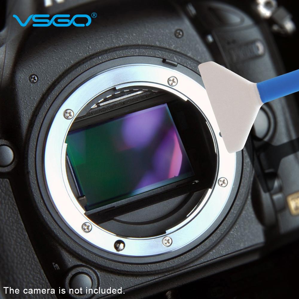 VSGO 10ST 24mm Mikrofaser Full-Frame Sensor Swab Reinigungsset für ...