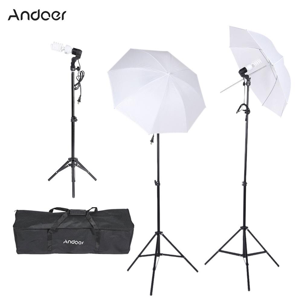 hss umbrella products light studio xpro lighting kit flash strobepro lcd