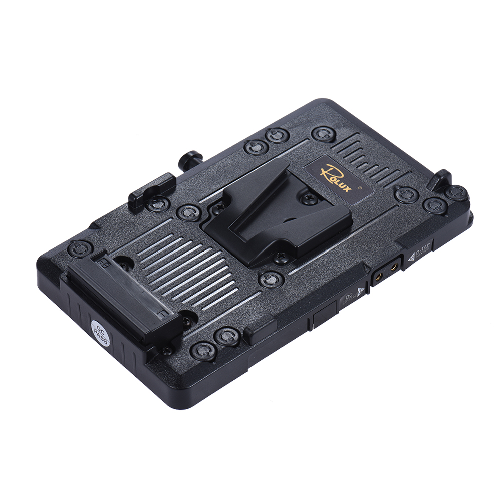 Rolux Rl Is2 V Mount Lock Diy Power Supply Battery Plate For Sony