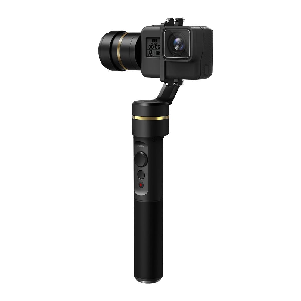 Feiyu G5 3-Axis Handheld Gimbal Action Camera Stabilizer Splash ...