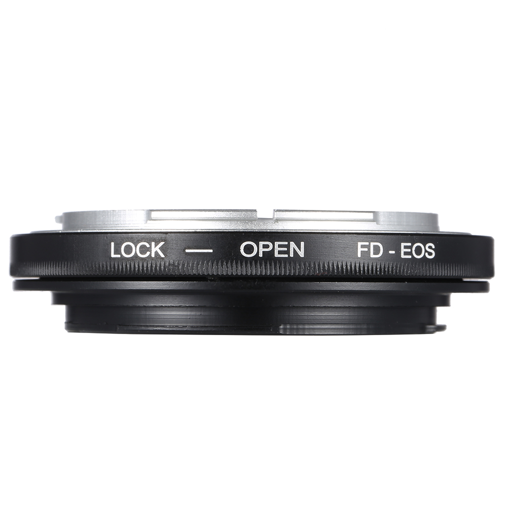 FD-EOS Adapter Ring Lens Mount for Canon FD Lens to Fit for EOS