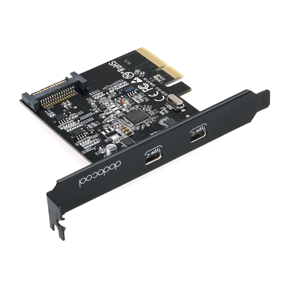 SuperSpeed USB 3.1 PCI-Express Card-dodocool.com