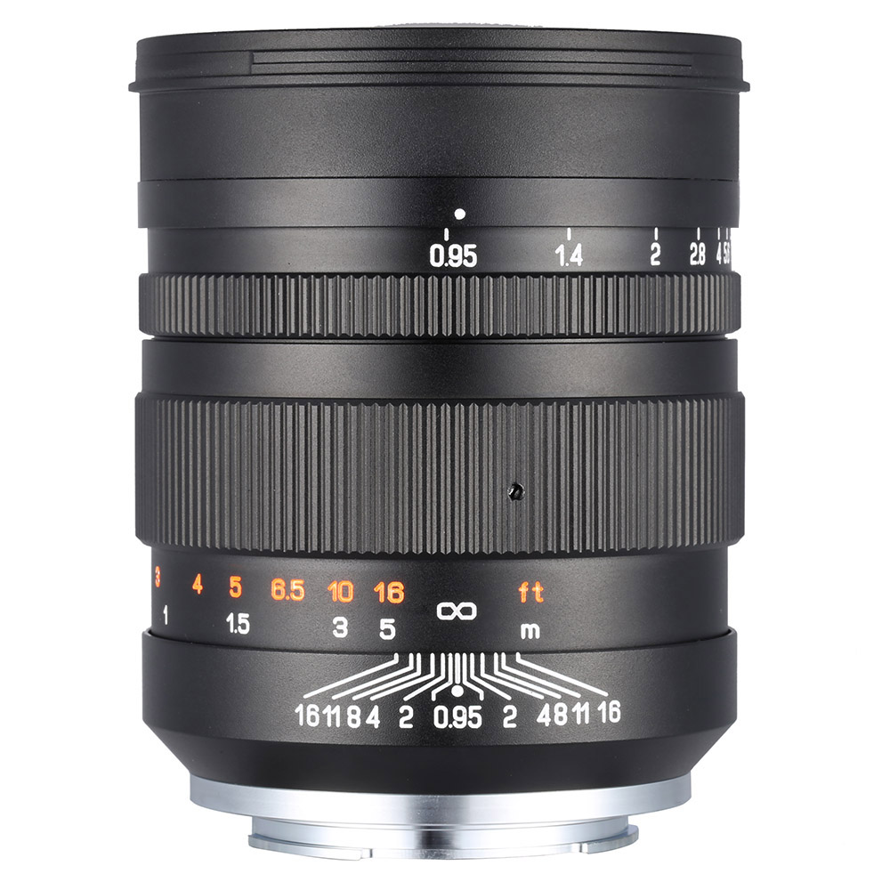 Zhong Yi Optik 50mm F0.95 135-Full-Frame-Objektiv für Sony A7 / A7r ...