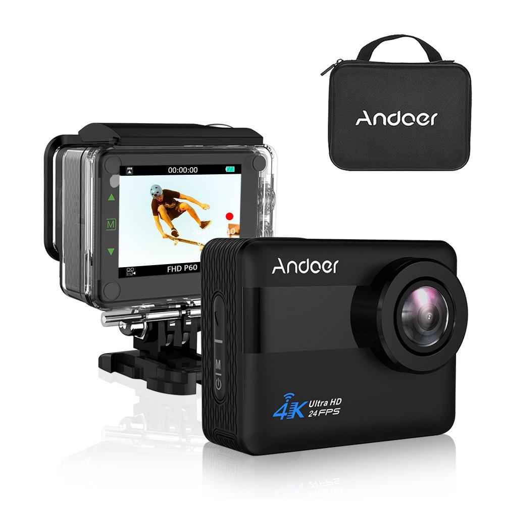 Andoer An1 4k Wifi Sports Action Camera 1080p Full Hd 20mp Novatek Cam Sport Mini H264 No Buy At Amazon