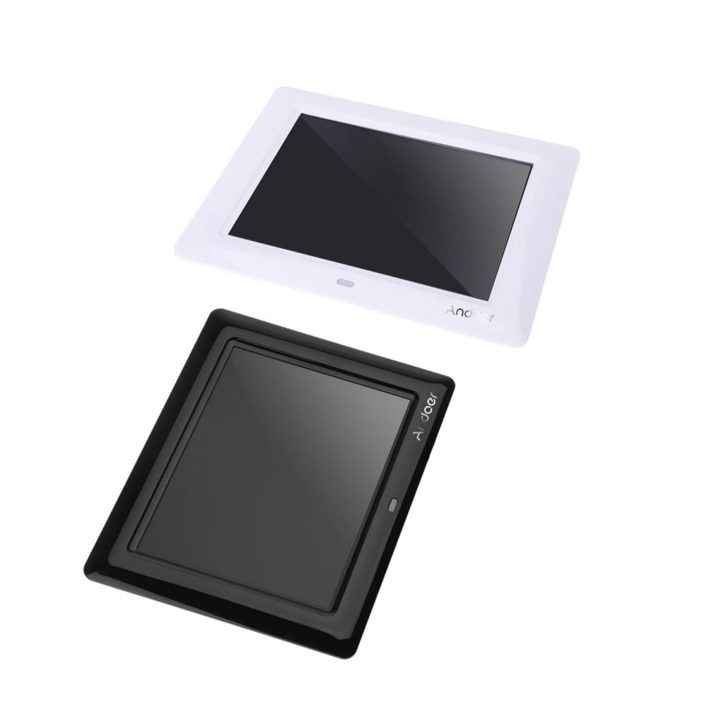 7 \'\' Marco HD TFT-LCD de fotos digital con diapositivas reloj MP3 ...