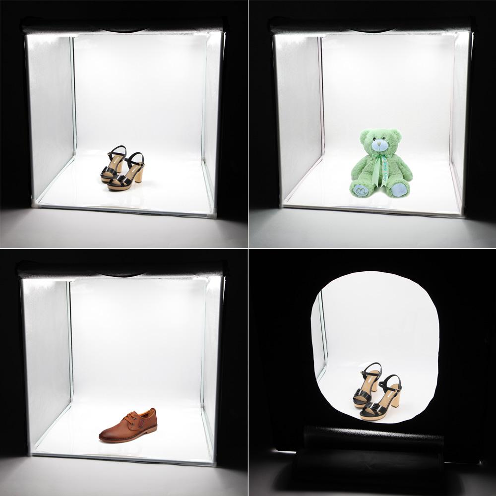 LED Professional Portable Softbox Box 42 * 42cm LED Photo Studio Video Lighting Tent with LED Light Deals - Camfere.com  sc 1 st  Camfere.com & LED Professional Portable Softbox Box 42 * 42cm LED Photo Studio ... azcodes.com