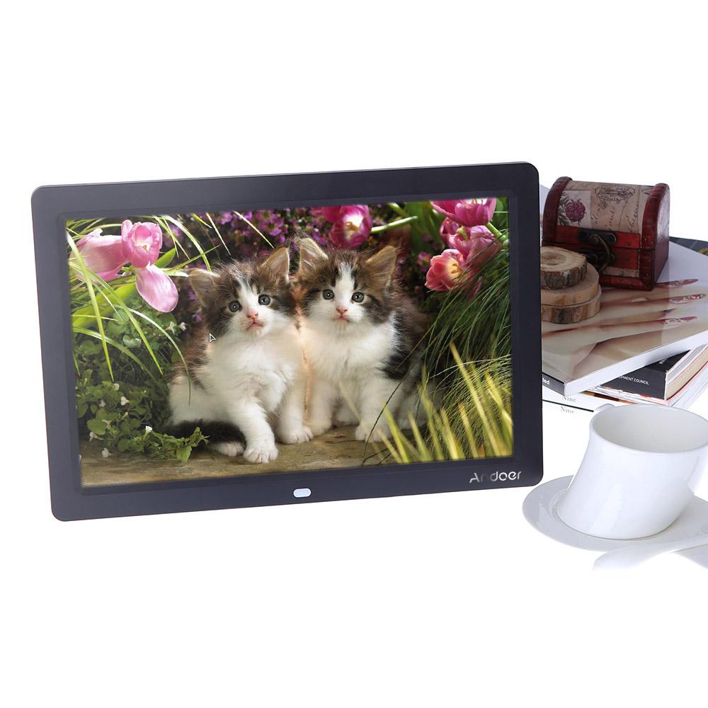 Andoer 12 \'\' HD TFT-LCD 1280x800 Vollansicht Digital Photo Frame ...