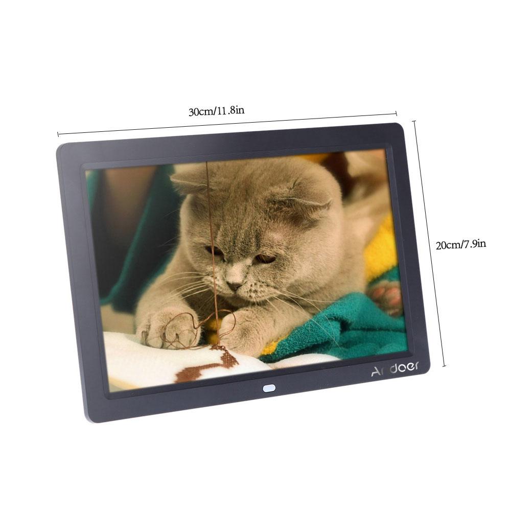 """Sólo 58.27€, Marco de fotos digital Andoer de 12 """"HD TFT-LCD ..."""