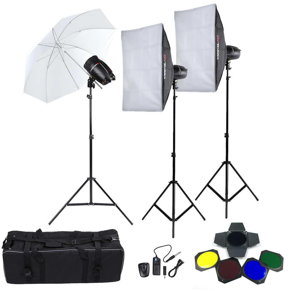 Tolifo Professional Photography Photo Studio Speedlite Lighting L& Kit Set with (3 * )250W  sc 1 st  Camfere.com & Tolifo Professional Photography Photo Studio Speedlite Lighting Lamp ...