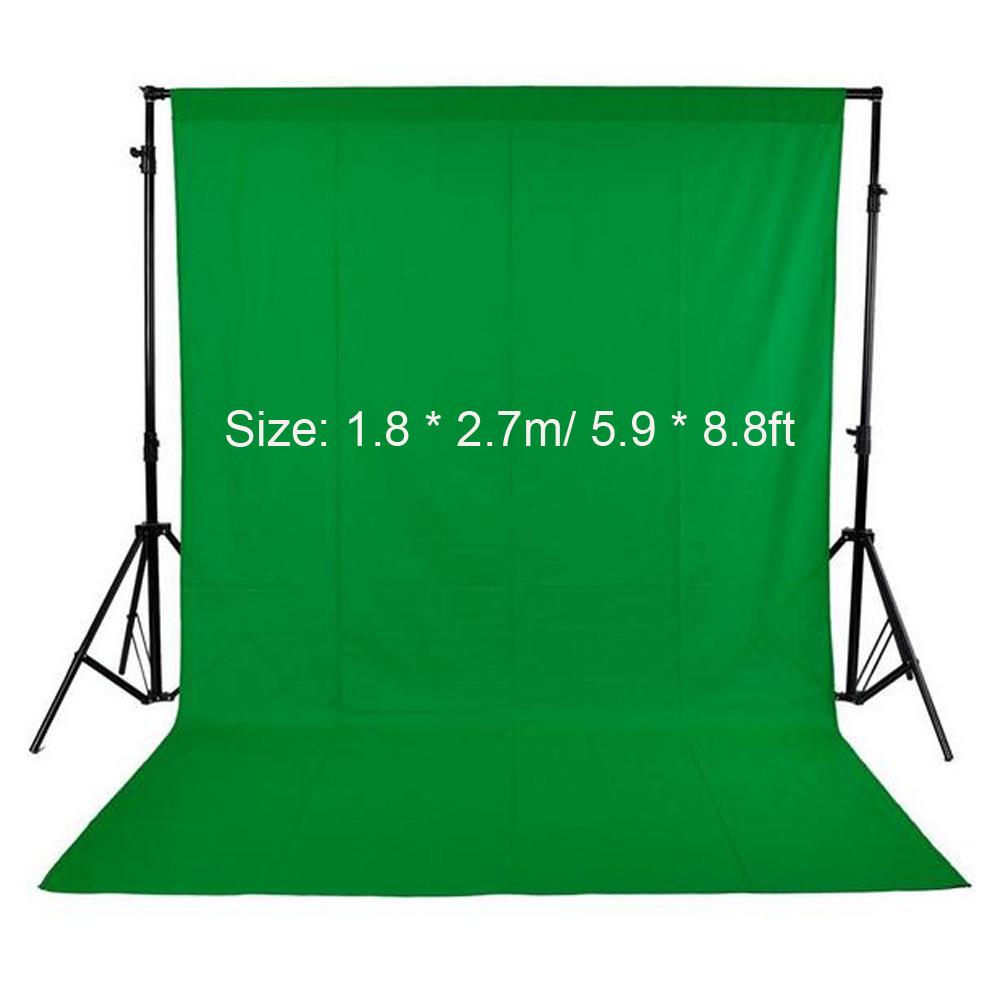 1.5 x 3m Photography Photo Studio Non-Woven Fabric Backdrop Background Yellow