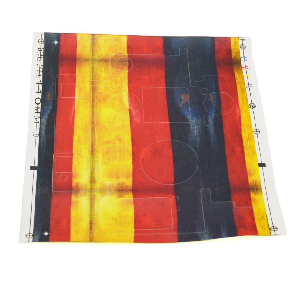 Andoer slim fitting protective skin decoration vinyl cover for African skin decoration