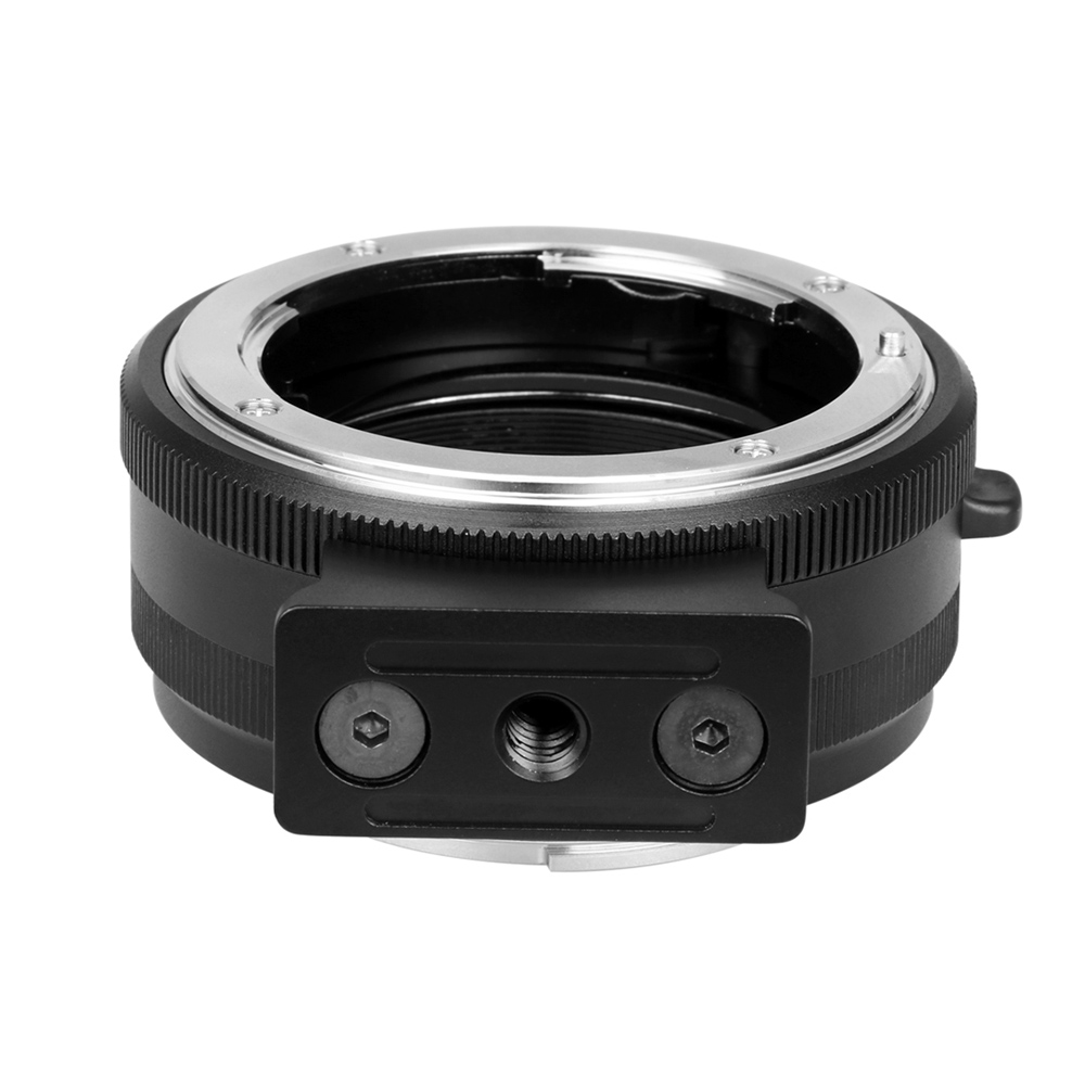 MeiKe MK-NF-E-manueller Fokus-Objektiv-Mount-Adapter Ring Metall für ...