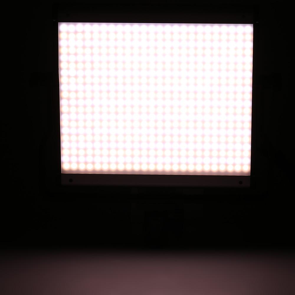 480pcs led licht panel beleuchtung dimmen dimmbar helligkeit farbtemperatur einstellbarer 3200k. Black Bedroom Furniture Sets. Home Design Ideas