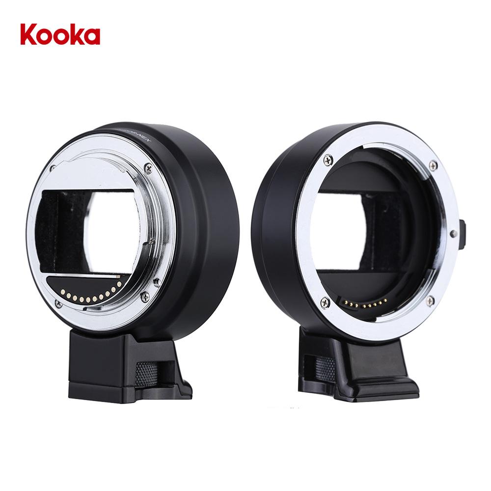 Kooka KK-ENC99 PRO AF Lens Adapter for Canon EF/S Lens to Sony NEX ...