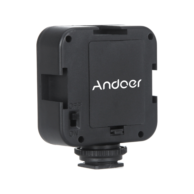 andoer 36 led video licht lampe 4w 160lm f r nikon canon. Black Bedroom Furniture Sets. Home Design Ideas