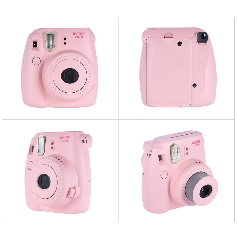 fujifilm instax mini 8 camera film photo instant cam pop. Black Bedroom Furniture Sets. Home Design Ideas