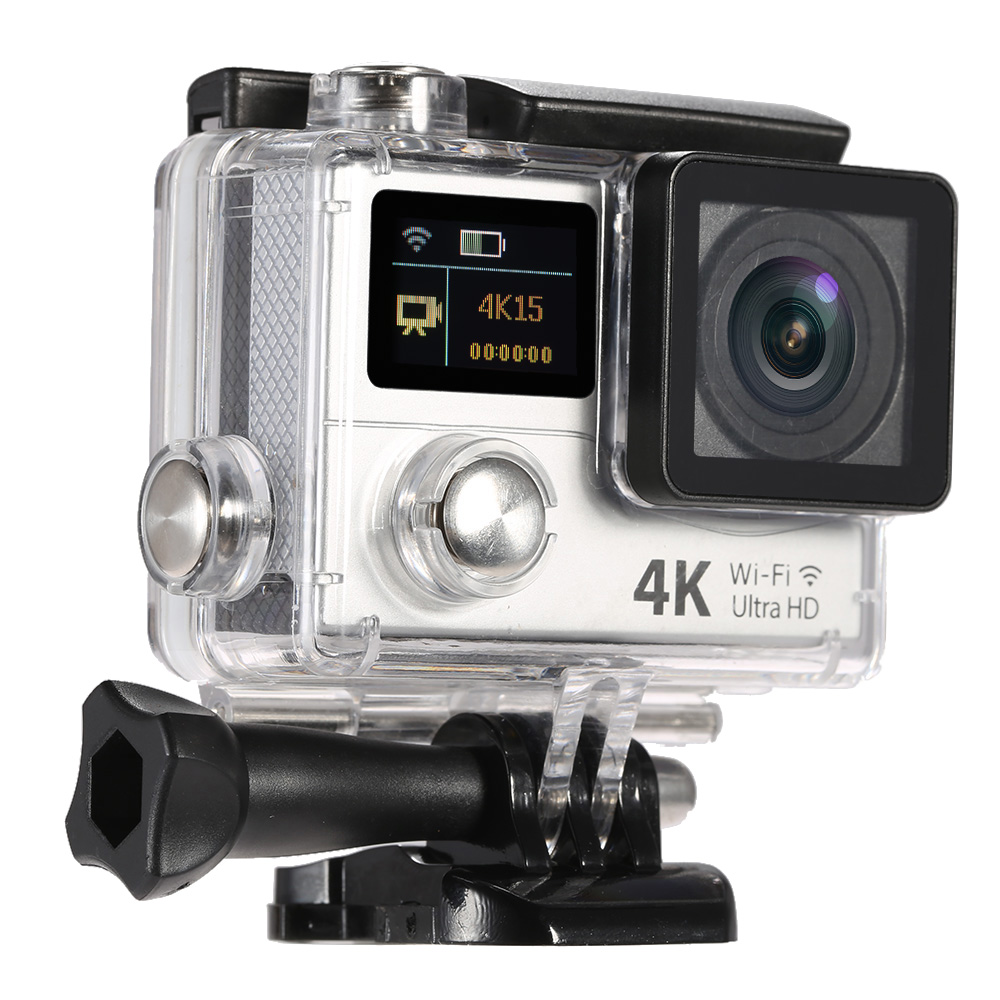 2 inch dual screen lcd ultra hd wifi sports action camera. Black Bedroom Furniture Sets. Home Design Ideas