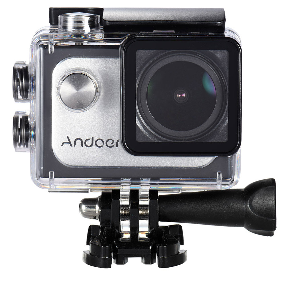 Andoer 4K 30FPS 1080P 60FPS Full HD DV 16M 2 0in LTPS LCD Screen Wifi  Waterproof 173°Wide Angle Outdoor Action Sports Camera Camcorder Digital  Cam