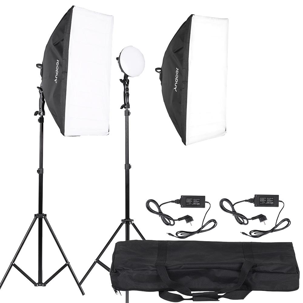 Andoer Led Photography Studio Lighting