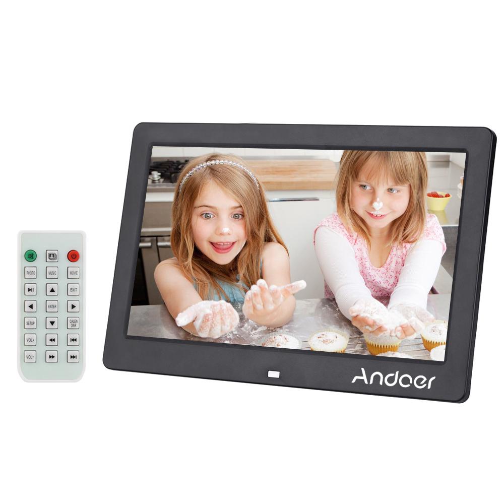 Nur 53.27€, Andoer LCD Digitaler Bilderrahmen Wecker - LovDock.com