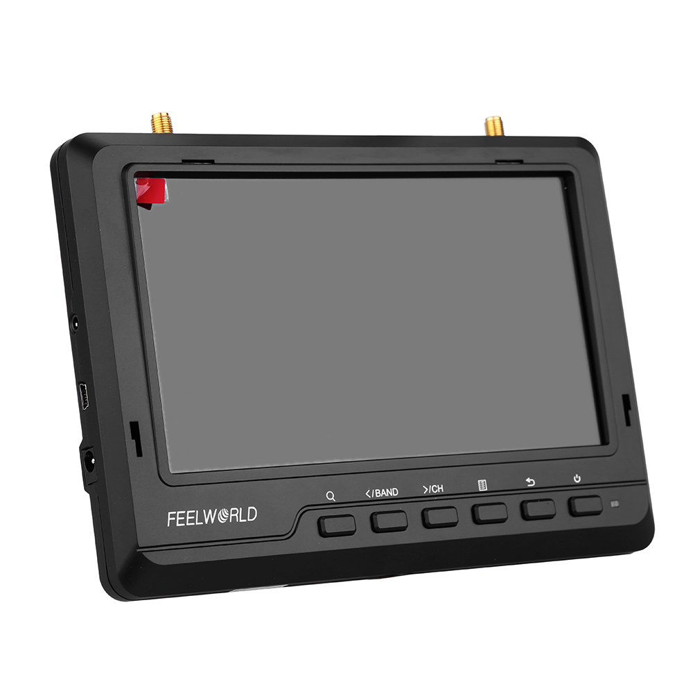 Diverse Battery Monitor : Feelworld fpv quot ips screen dual diversity receiver