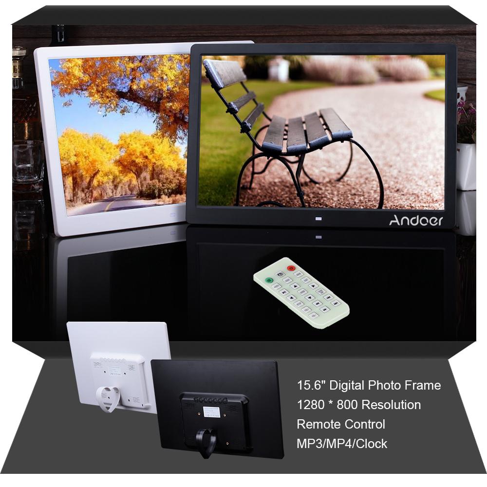 "Andoer 15.6"" High Resolution 1280*800 LED Digital Photo"