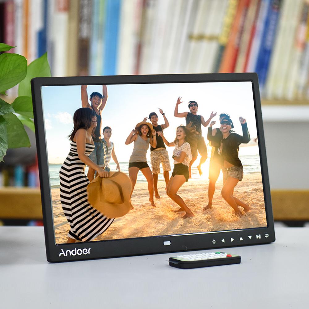 "Nur 73.96€, Andoer 15 ""TFT LED Digitaler Fotorahmen Bildschirm ..."