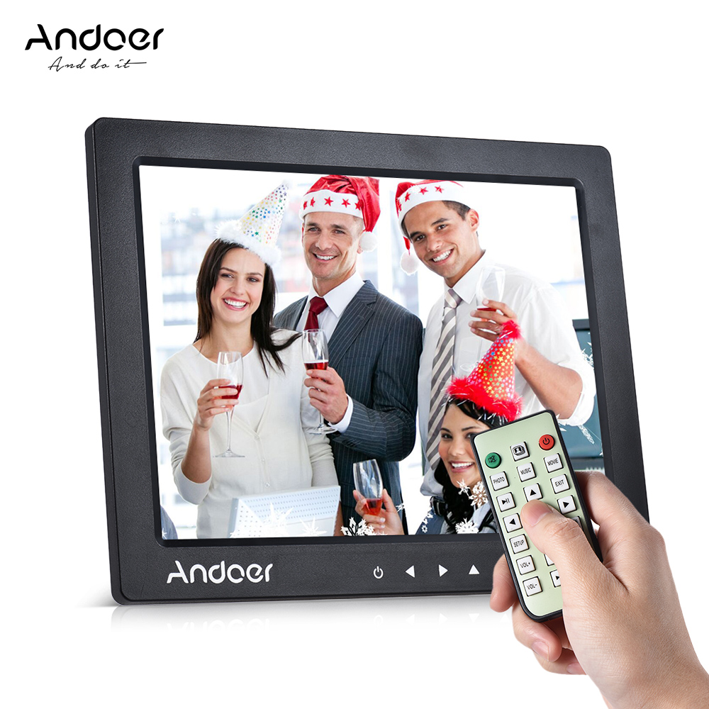 Smart Advertising Machine 1920 1080 high-Resolution IPS Screen 13-inch high-Definition Digital Photo Frame Black Color//White Color
