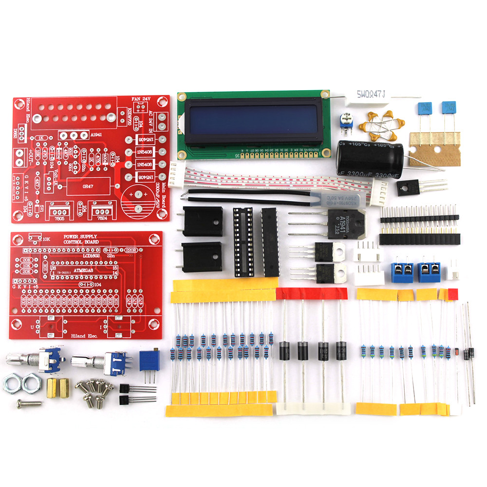 Kkmoon 0 30v 2ma 3a Continuously Adjustable Dc Regulated Power How To Build Dual Supply Circuit Diagram 28v 001 2a Diy Kit Lcd Display Short Current Limiting Protection