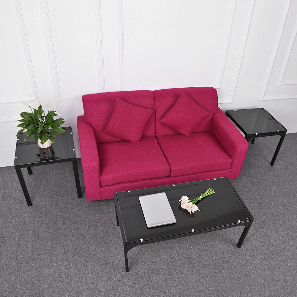 Sólo 98.32€, iKayaa elegante moderno de la tabla del metal del marco ...