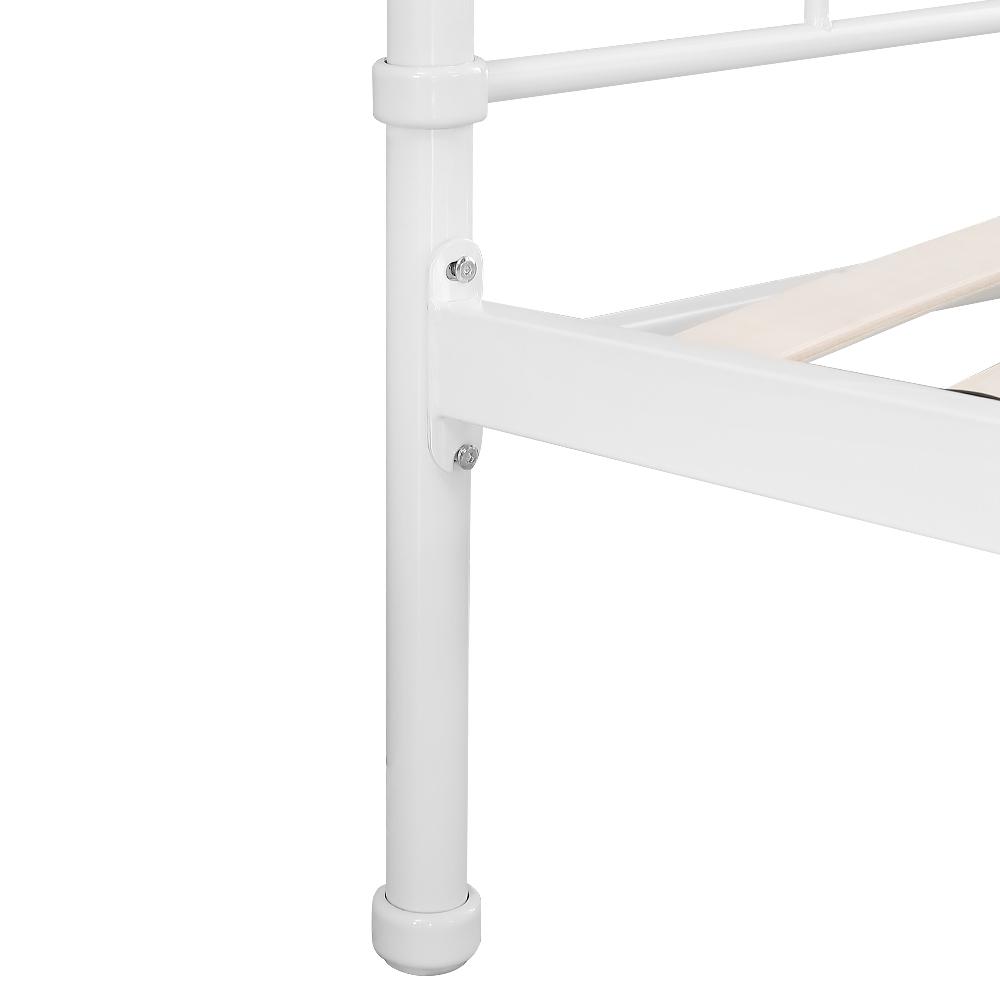Sólo 344.39€, Estructura de cama iKayaa Plataforma de metal con los ...