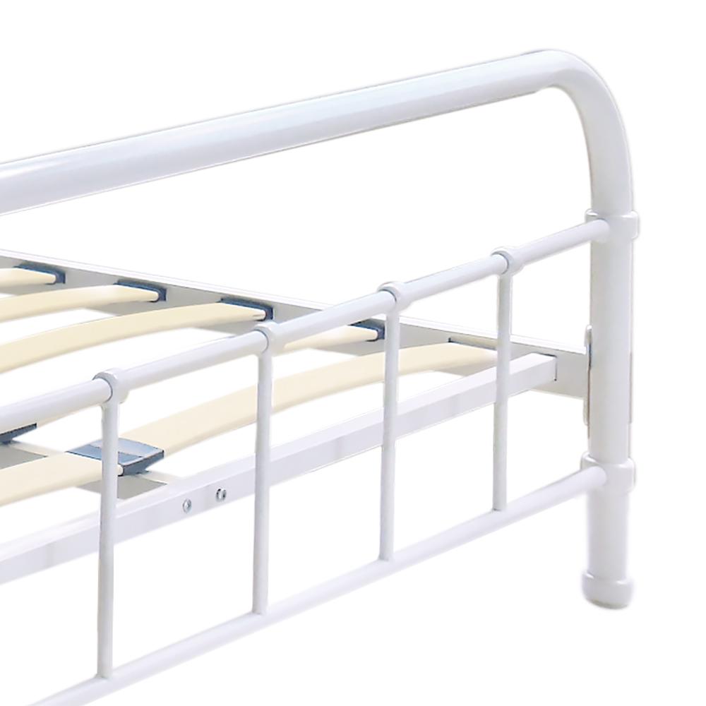 Sólo 341.99€, Estructura de cama iKayaa Plataforma de metal con los ...
