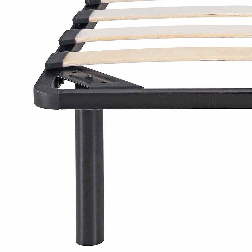 Sólo 111.14€, Estructura de cama iKayaa Plataforma de metal con los ...