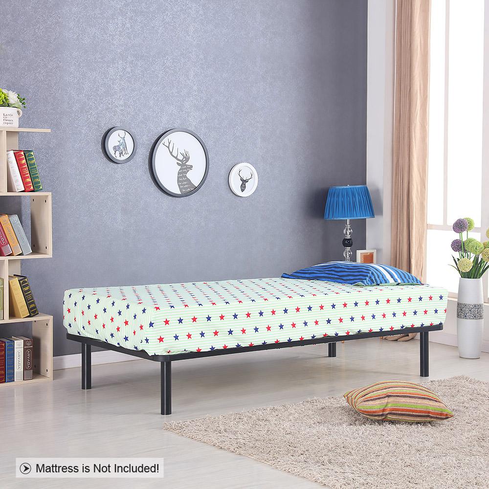Sólo 112.27€, Estructura de cama iKayaa Plataforma de metal con los ...