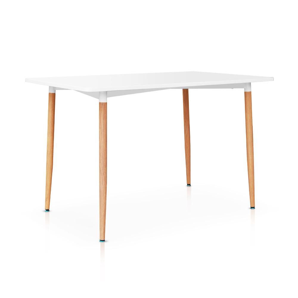 Nur 107.60€, IKayaa Modern Rectangle Esszimmer Küche Tisch ...