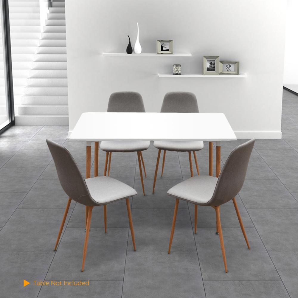 Nur 191.13€, IKayaa Modern Rectangle Esszimmer Küche Tisch oder ...