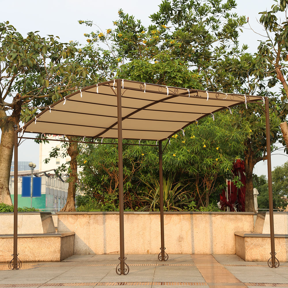 Delicieux IKayaa 3*2.5*2.5M Metal Patio Garden Gazebo Outdoor Canopy