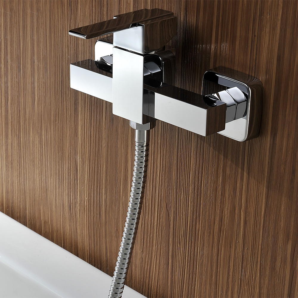 Homgeek Wall-mounted Copper Bathtub Faucet - LovDock.com