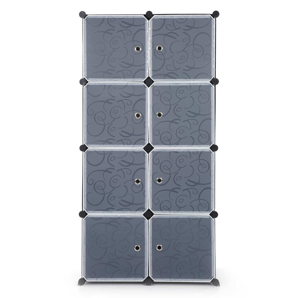 armoire modulable huit cubes interougehome. Black Bedroom Furniture Sets. Home Design Ideas